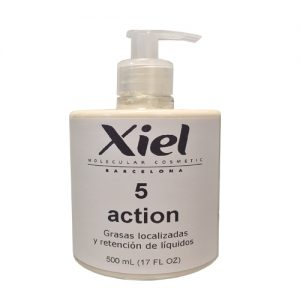 Anticelulítica volumen y peso / 5 ACTION CREAM 500ml / Xiel